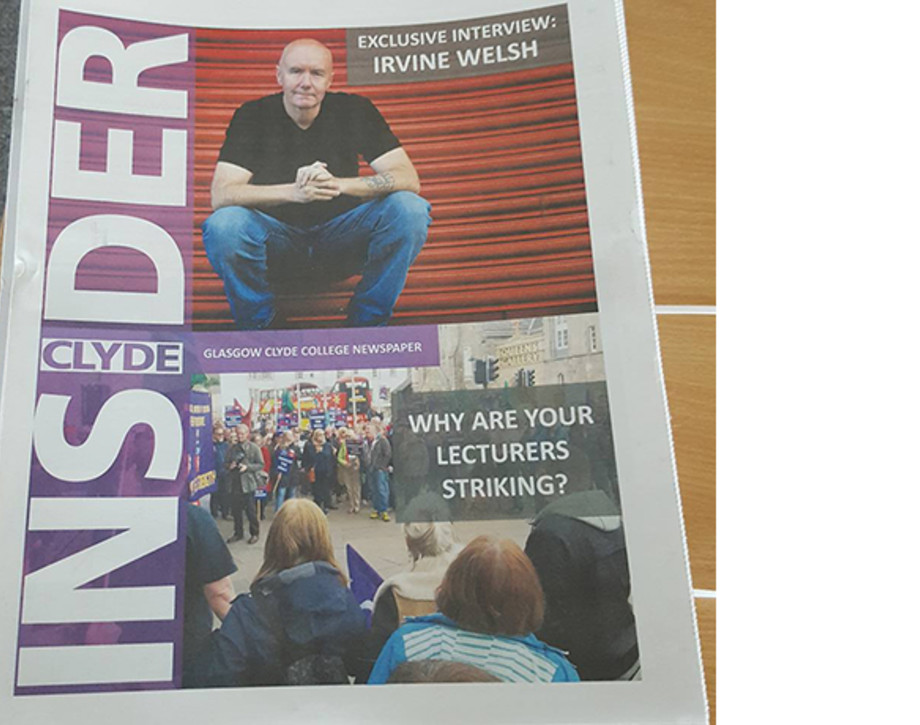 A Copy Of The Clyde Insider Newspaper