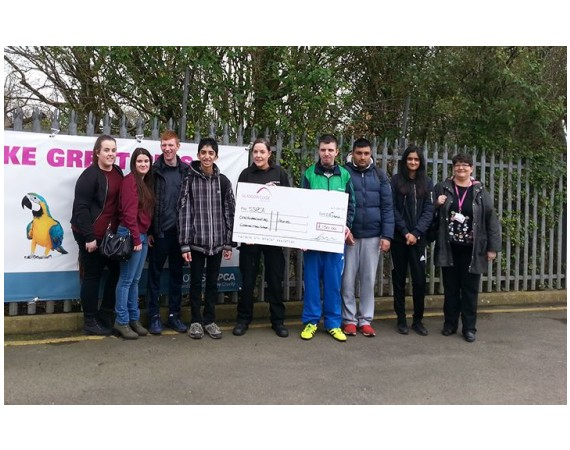Learning For Independence Students Raise £150 For Scottish SPCA