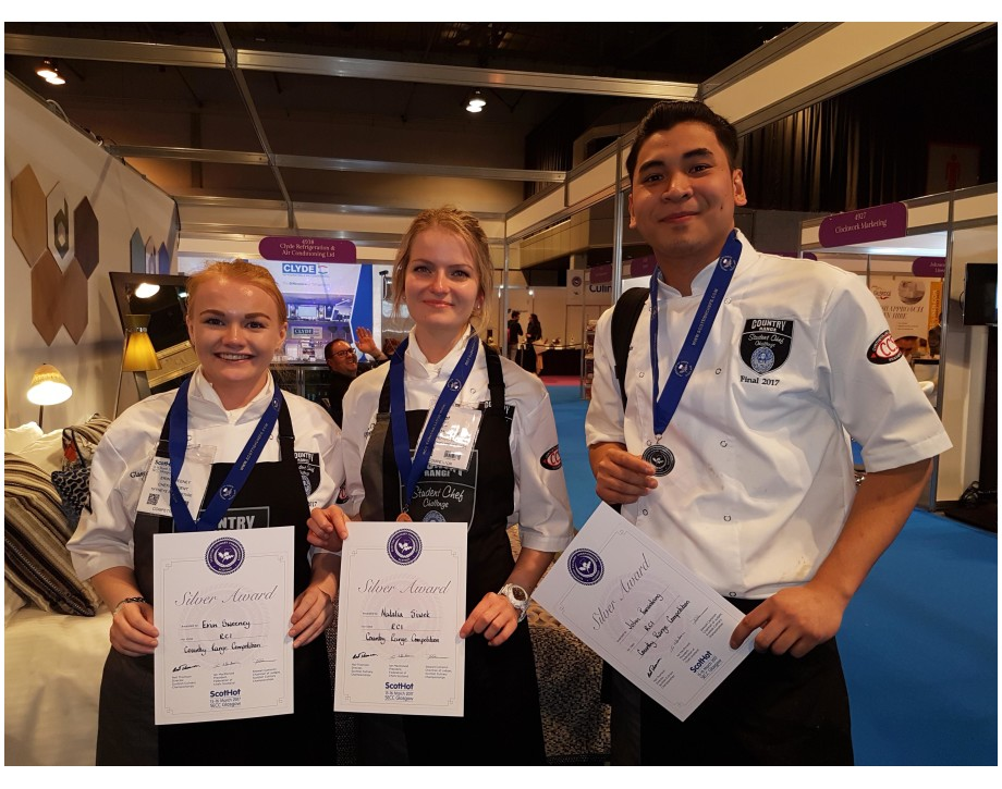 NQ Professional Cookery Students Take Silver At Country Range Student Chef Finals