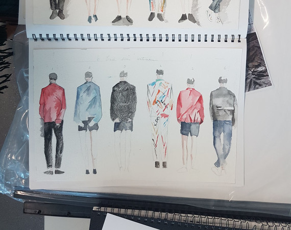 NQ Fashion Design and Manufacturing Sketchbook