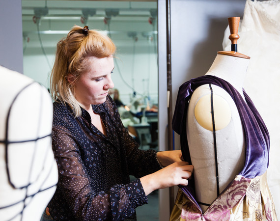 Fashion Design & Manufacture Student Fitting Dress