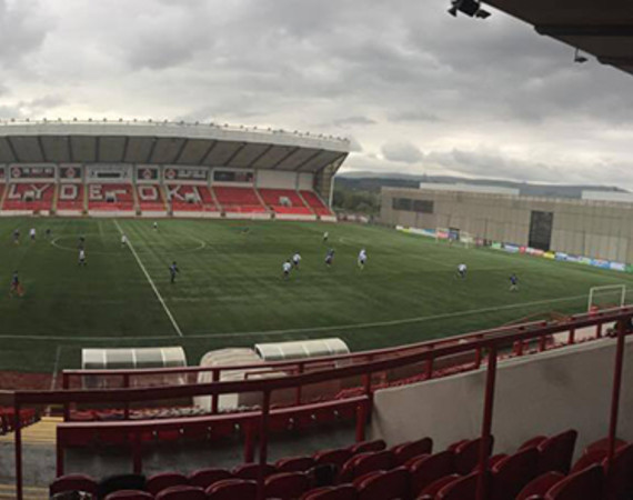 Clyde FC Ground Student Football Squad