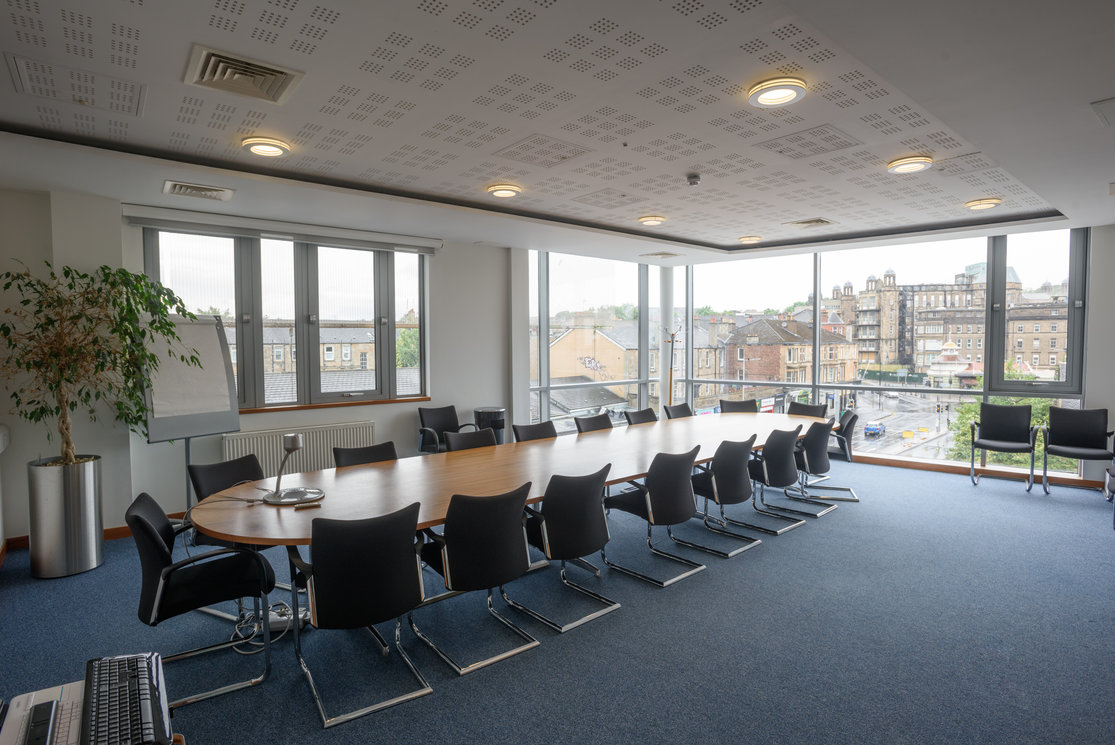 Langside boardroom table and chairs gallery