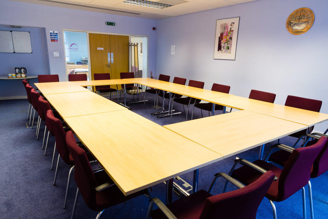 Cardonald large square meeting table gallery