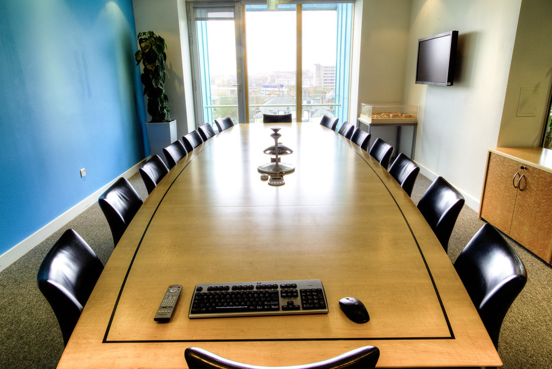 Anniesland boardroom table and chairs gallery