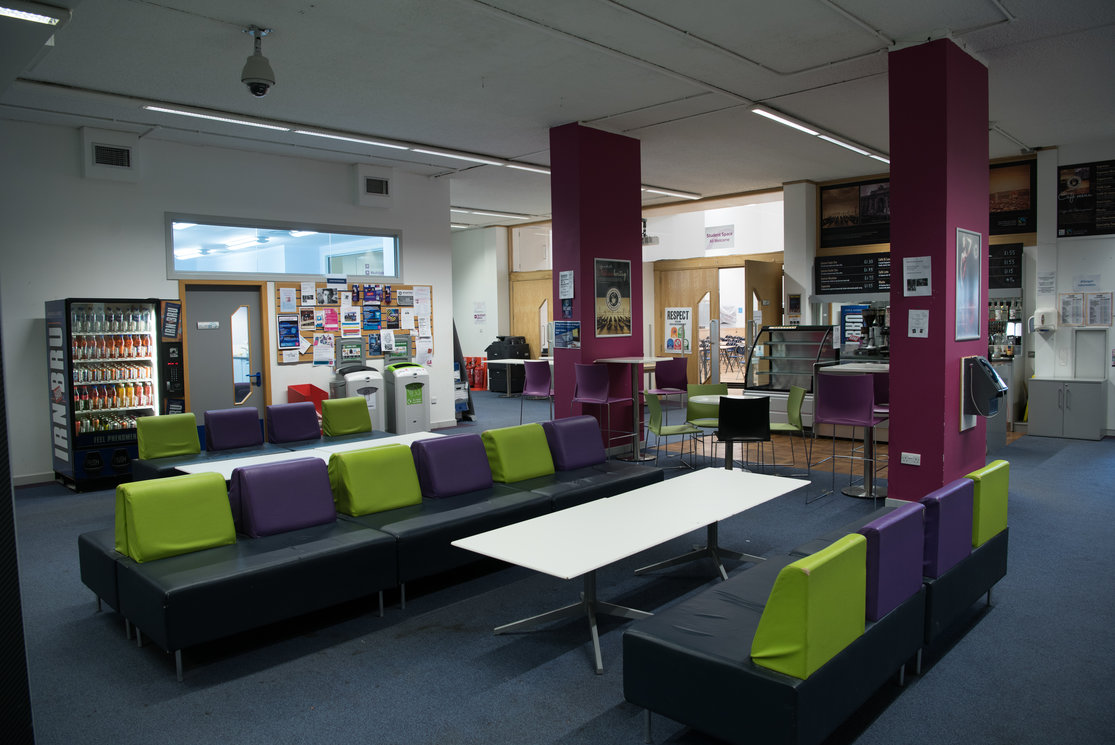 Cardonald reception area with catering gallery