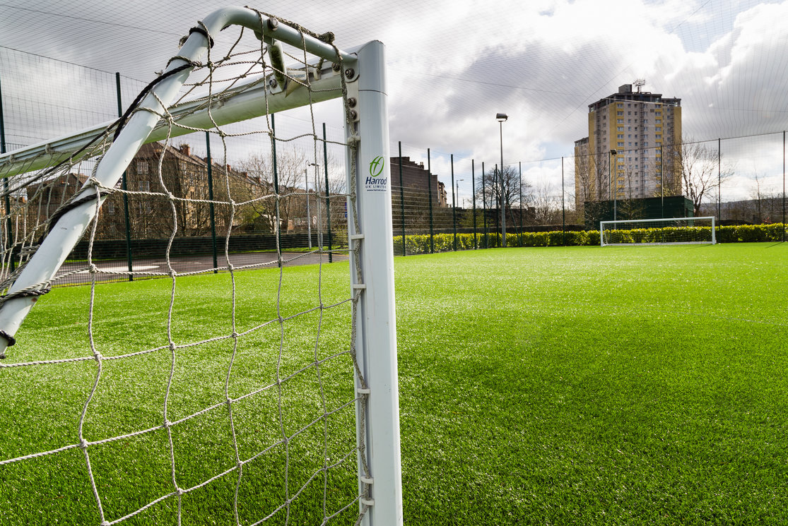 Langside five a side football pitch gallery