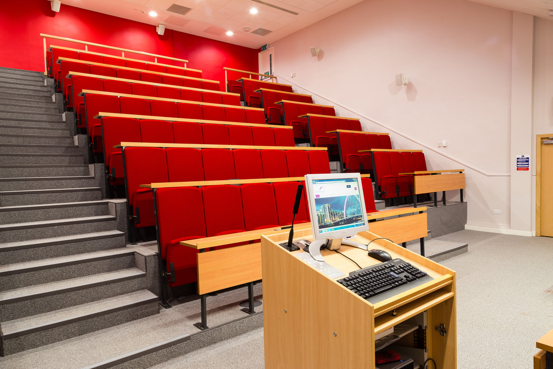 Cardonald red lecture theatre gallery