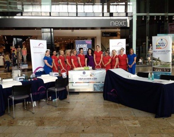 Beauty students fundraising for Prince and Princess of Wales Hospice