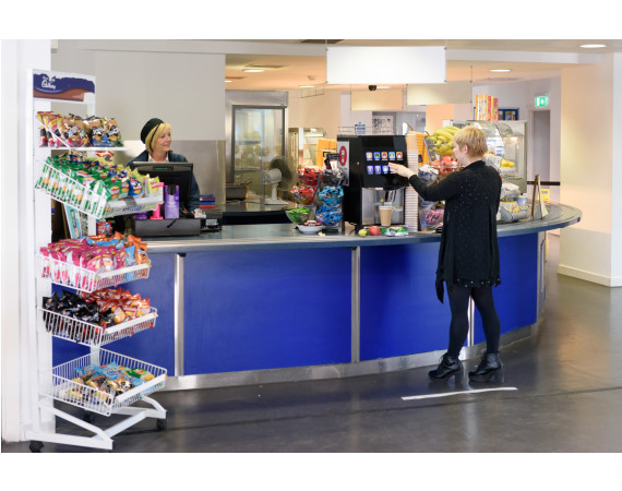Refectory at Cardonald counter