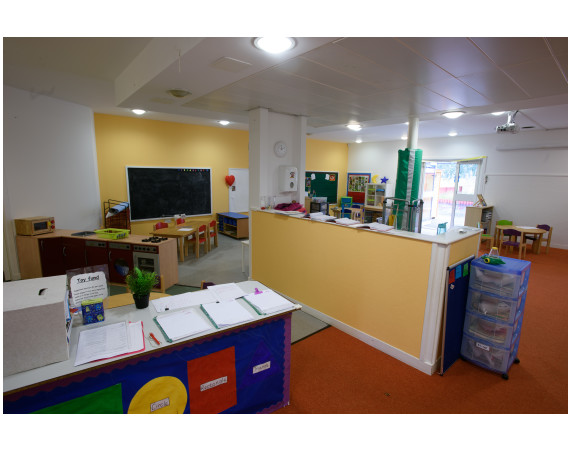 A view inside the Cardonald Children's Centre