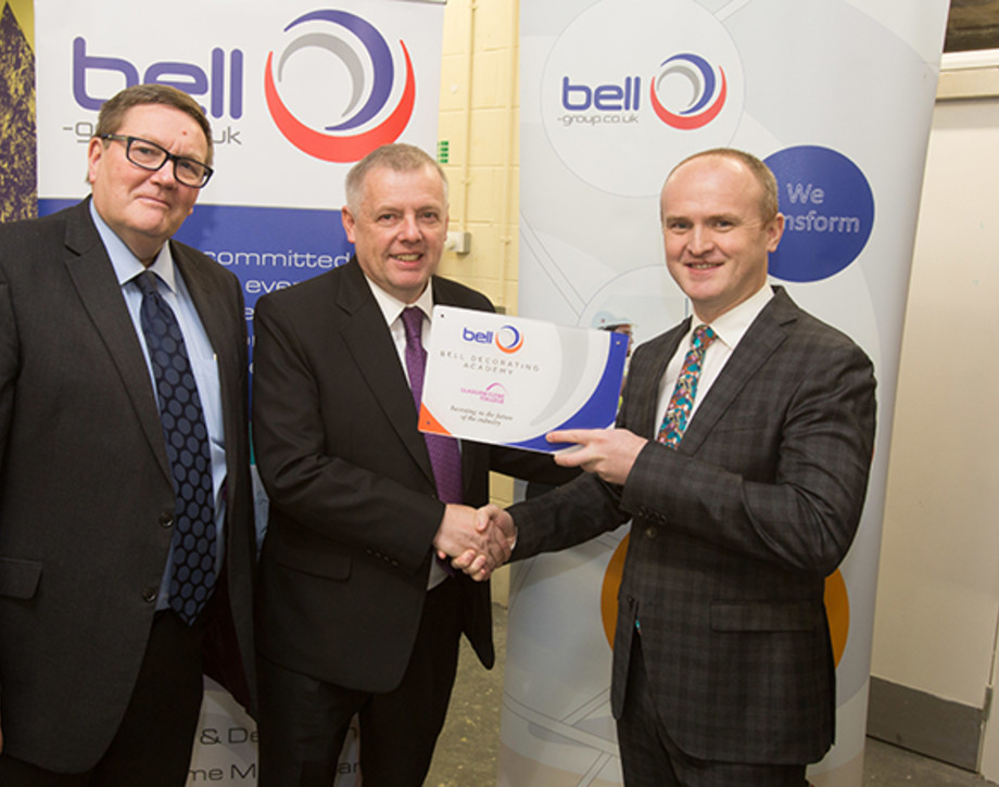 College Launches Bell Decorating Academy Glasgow Clyde College