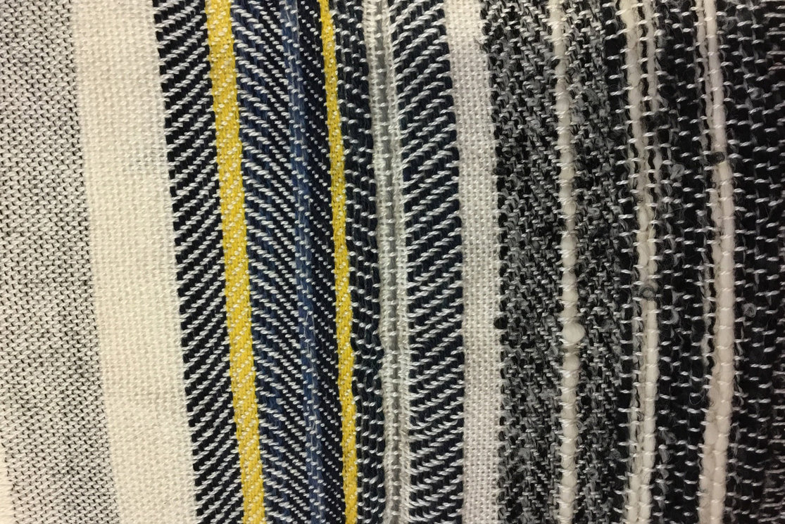 Hndba textiles specialising in weave and print sample 3 gallery