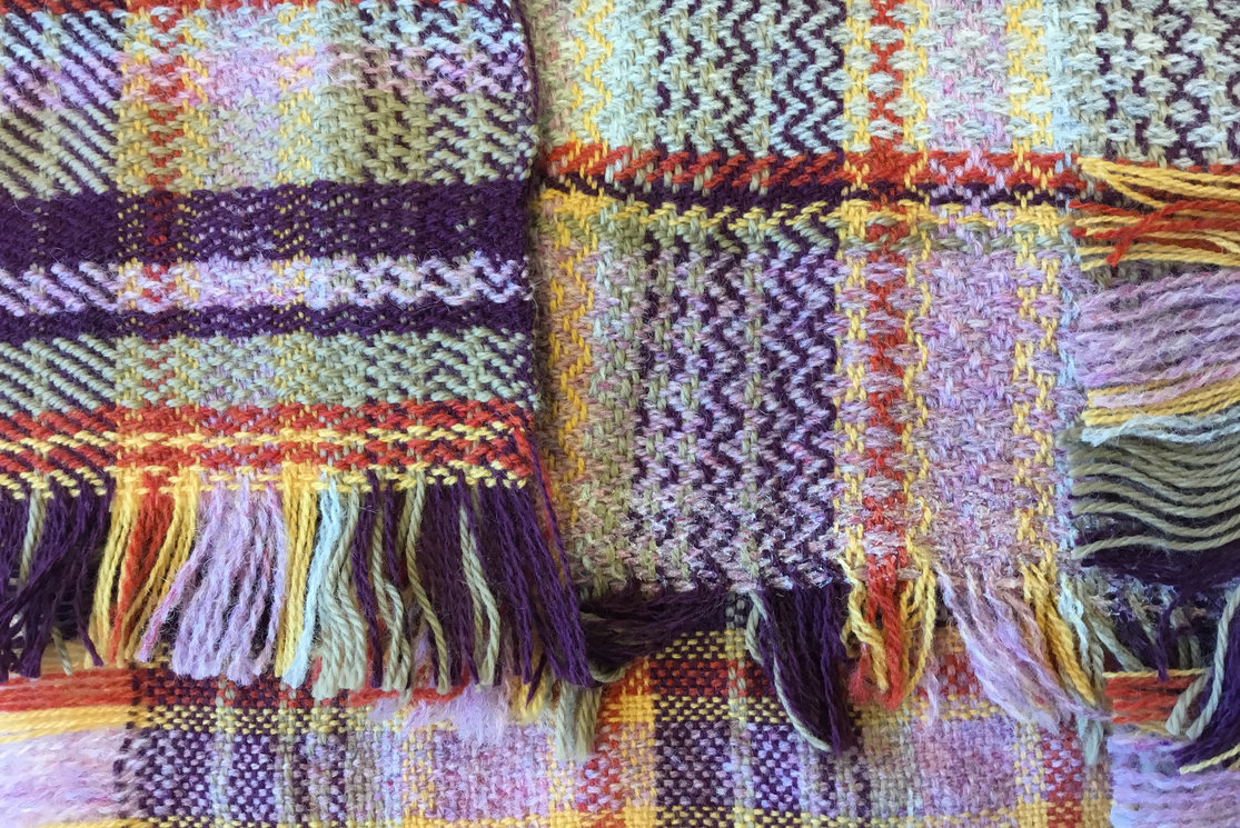 Hndba textiles specialising in weave and print sample 8 gallery