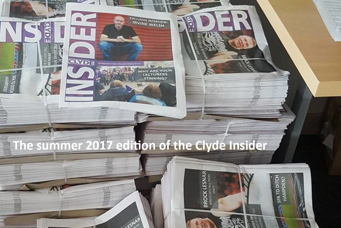 The summer 2017 edition of the clyde insider gallery