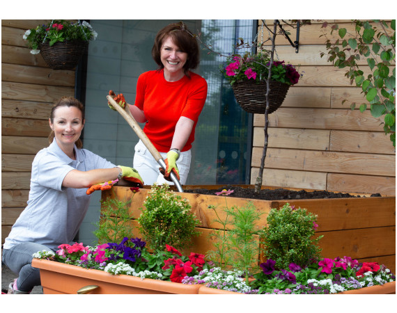 Theresa Talbot opens Horticulture centre