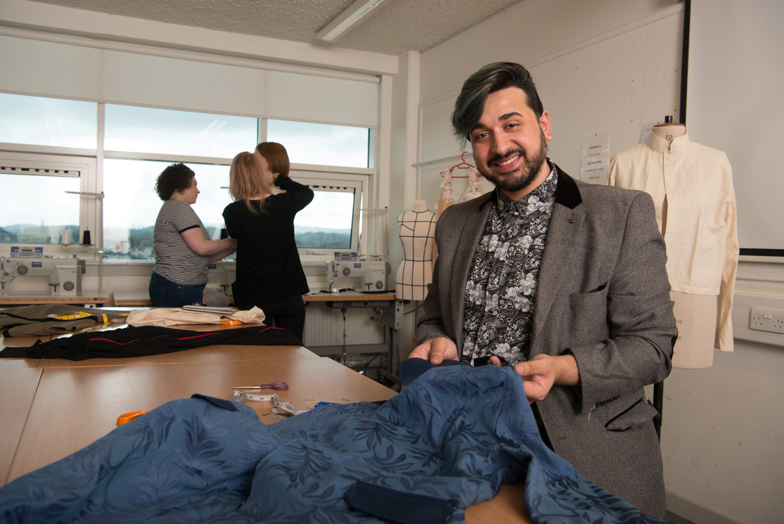 Hnd textiles year 2   male sewing coat  image 7 gallery