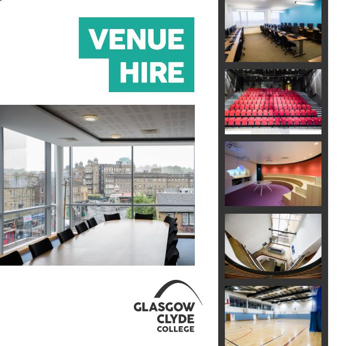 Venue Hire Brochure cover