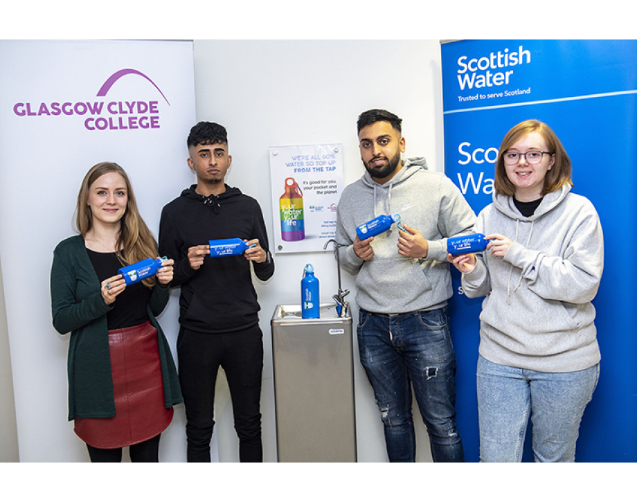 Glasgow Clyde College partners with Scottish Water