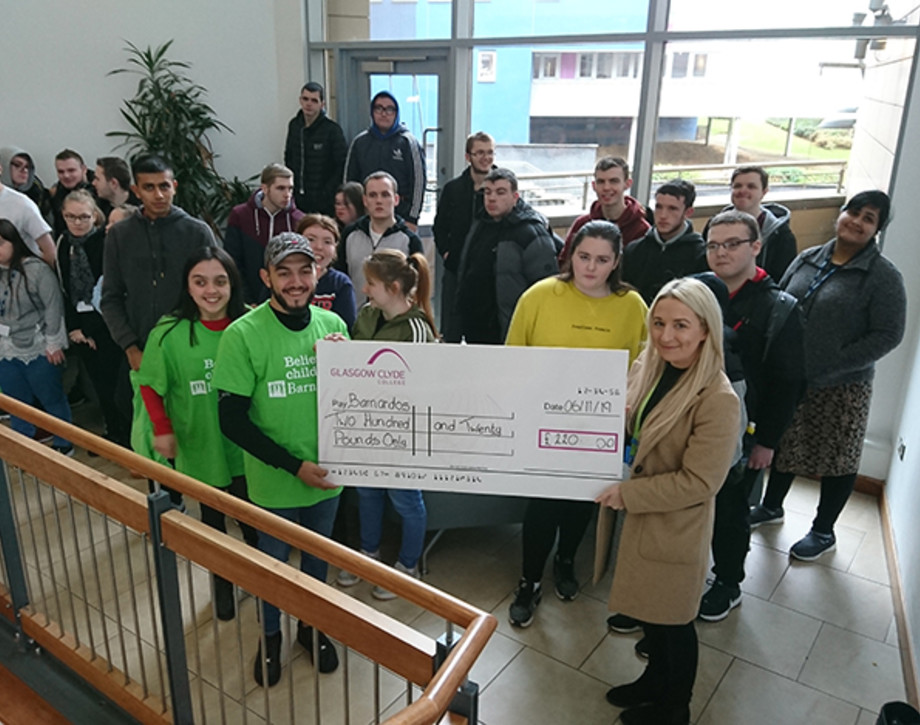 Skills for life and works students fundraise