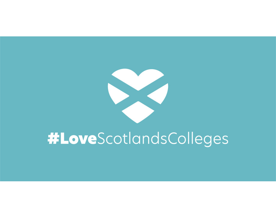 Image for national LoveScotlandsColleges campaign
